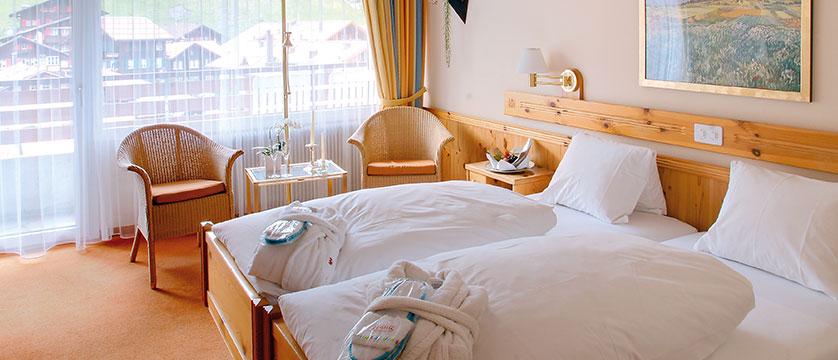 Hotel Sunstar, Grindelwald, Bernese Oberland, Switzerland - double bedroom.jpg